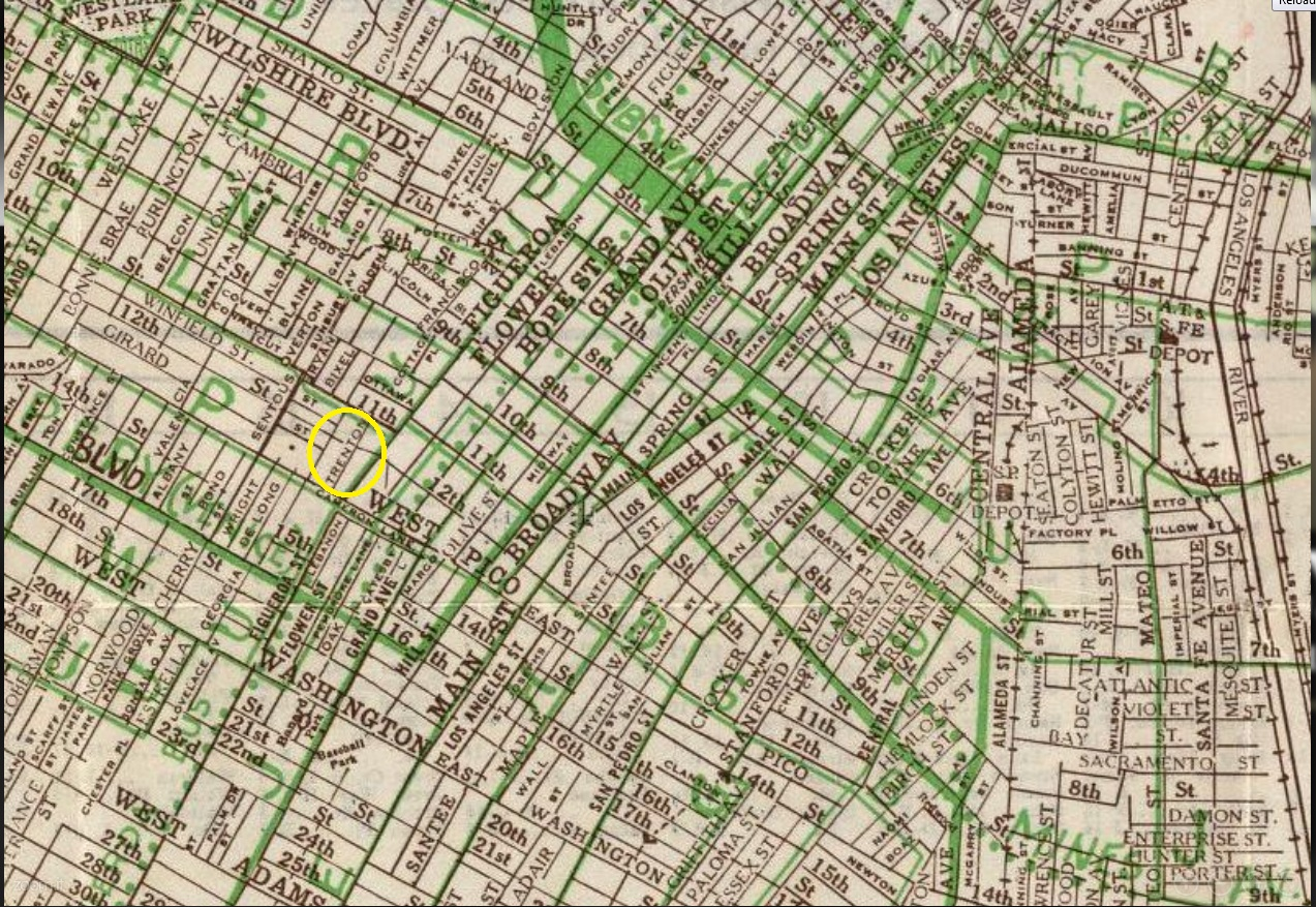 MacGyver Shooting Locations Hills Street Map Of Los Angeles - Los angeles geography map