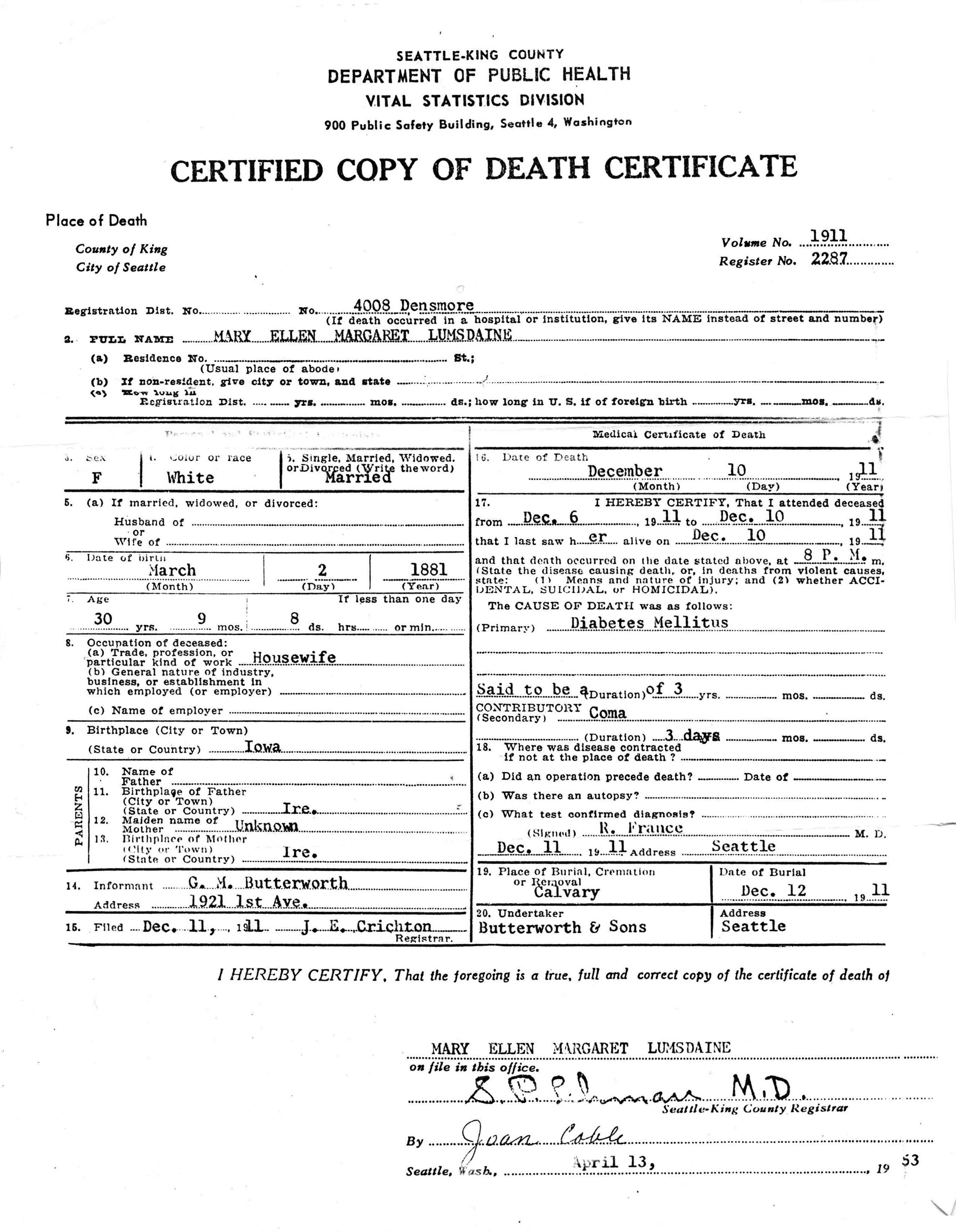 Online Death Certificate Choice Image - certificate of