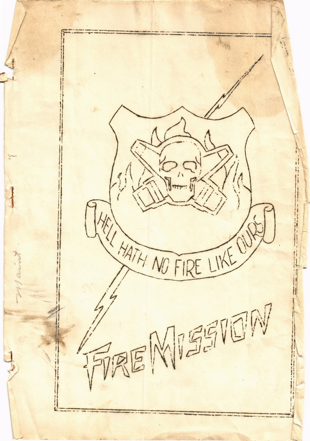 The Fire Mission Journal from WWII in France, Germany, England