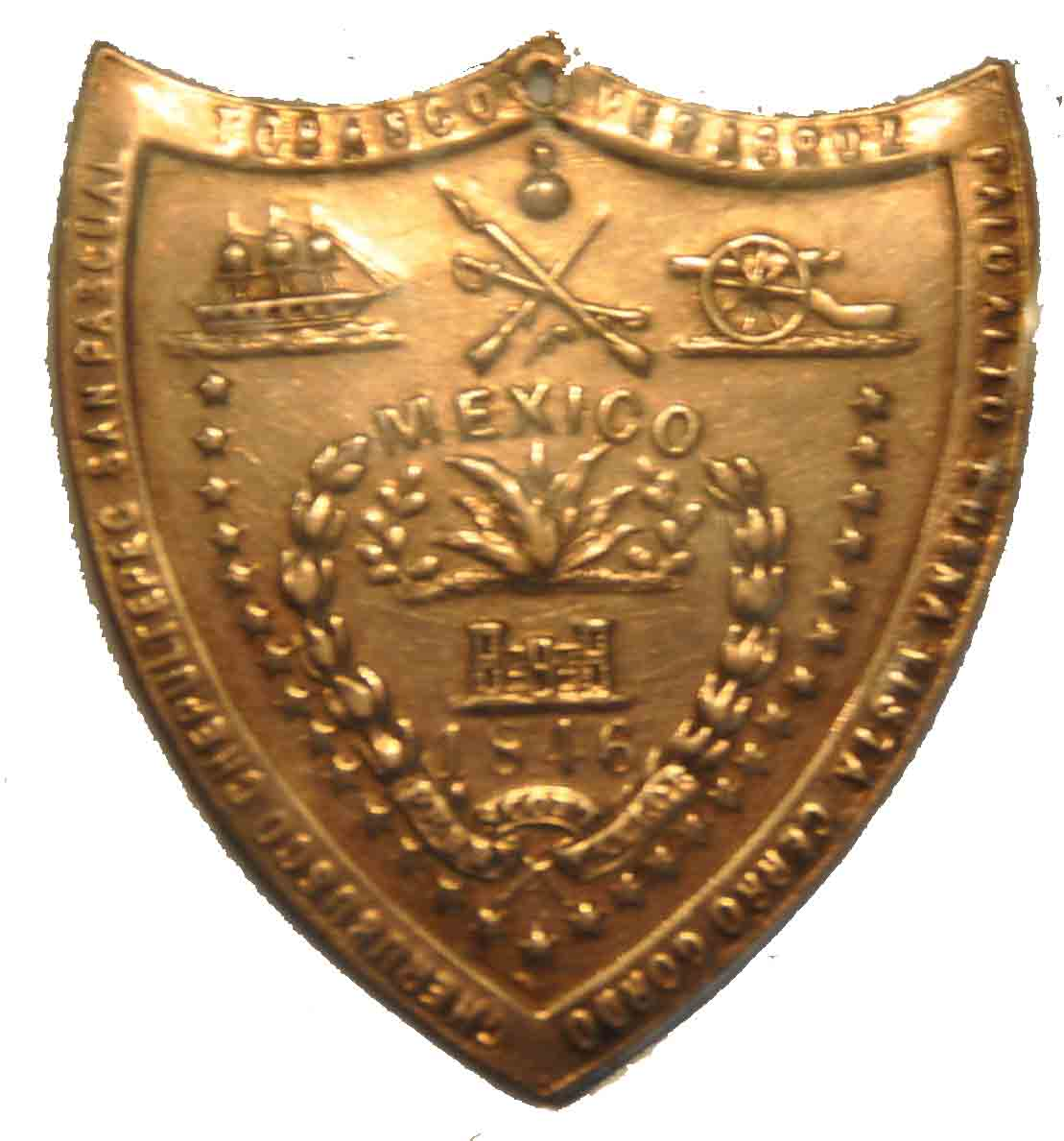 Mexican War Badge for Snellen M. Johnson