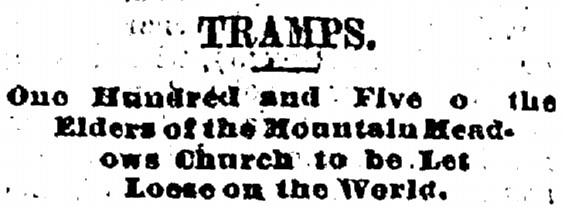 Salt Lake Tribune article 16 October 1875