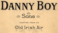 1955 recording of the song 'Danny Boy' performed by Rosemary Clooney