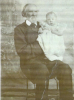 Nathan Cutler Davis with grand daughter Isabel